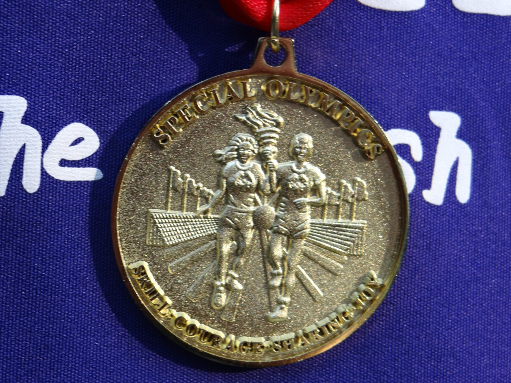 LONG DISTANCE WALKING GOLD MEDAL