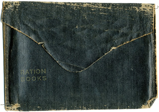 1942 Ration book cover