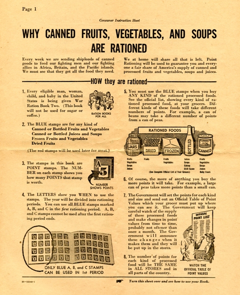 1942 Why Ration