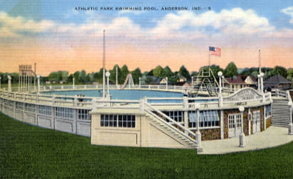 ATHLETIC PARK POOL IN PARK PLACE