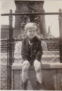 ME IN INDIANAPOLIS 1945