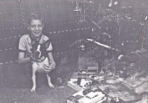 1951 dec sparky black&white bulldog