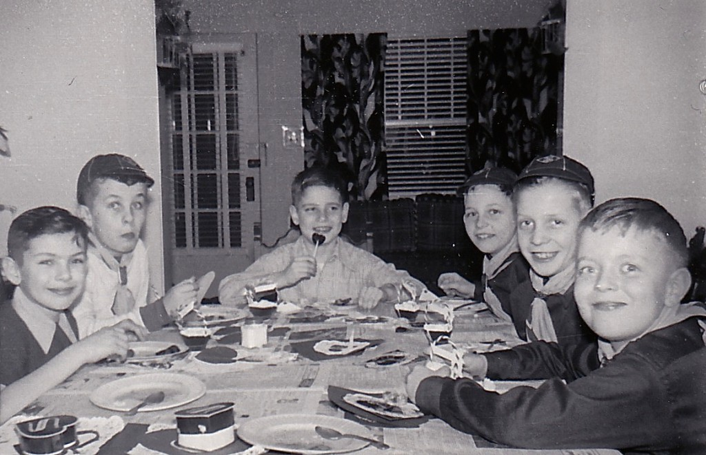 1951 Den meeting-m Me second from right