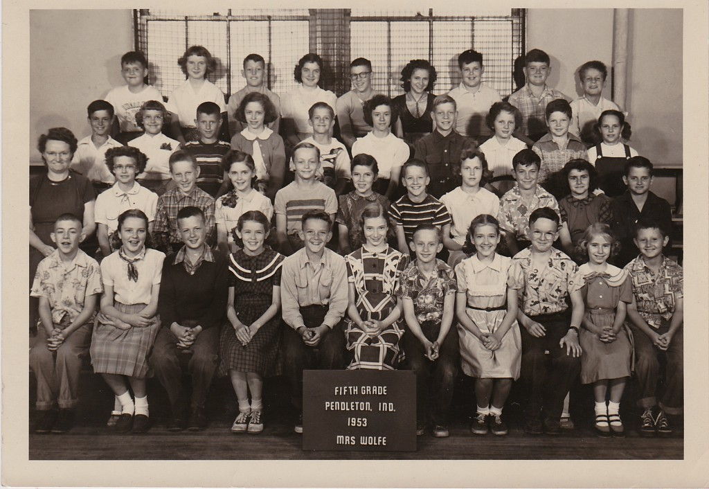 1952 FIFTH GRADE PENDLETON