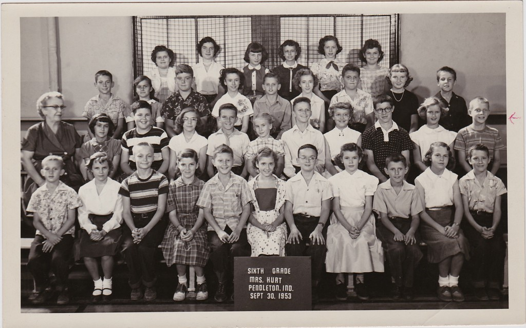 1953 SIXTH GRADE