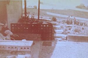 1953 MADISON COUNTY JAIL DOOR