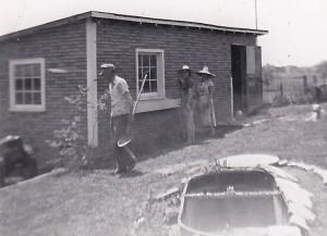 1954 GRANDPA AND GRANDMA BARRETT