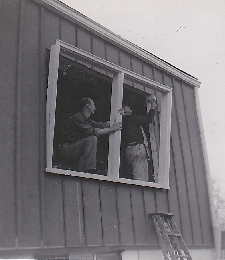 1954 LIVING ROOM WINDOWS