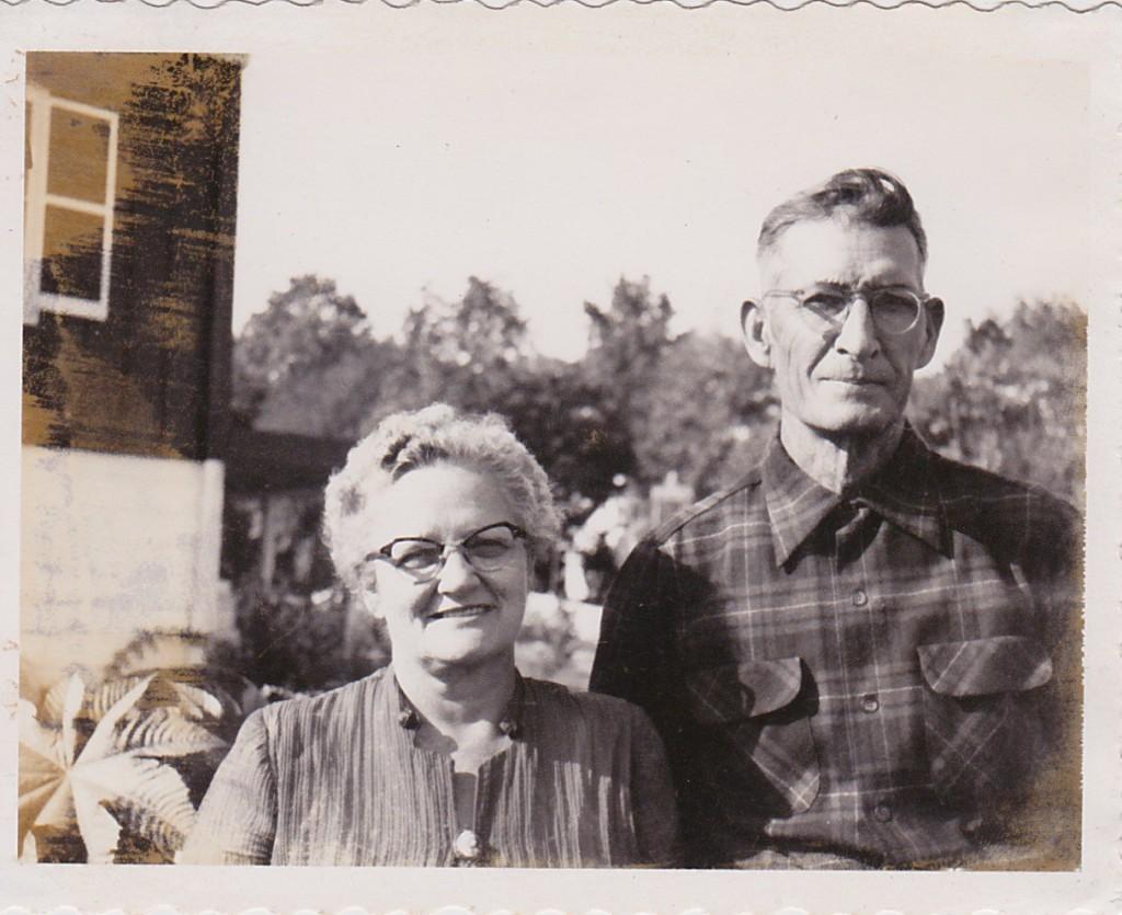 1954 GRANDMA & GRANDPA BARRETT