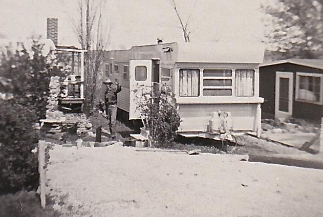 1955 GRANDMA`S TRAILER
