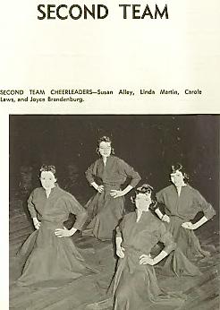 1956-7 Carole, B-TEAM