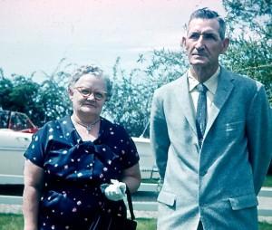 1959 GRANDPA & GRANDMA BARRETT