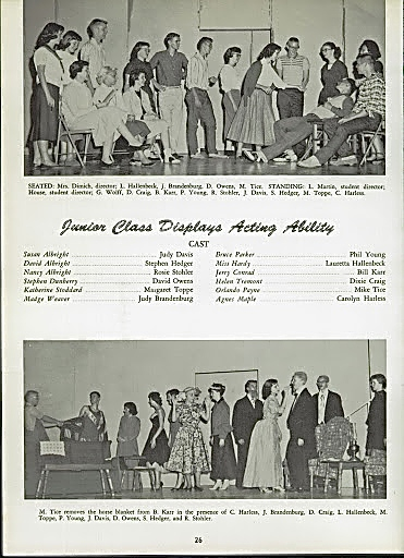 1959 JUNIOR CLASS PLAY