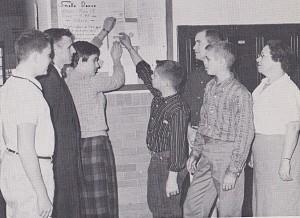 1960 BULLETIN BOARD