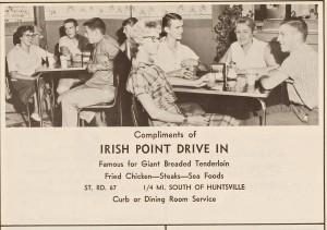 1959 IRISH POINT in PENDLETON