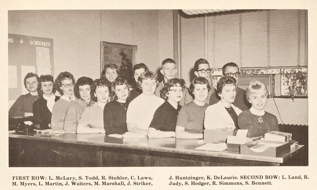 1960 OFFICE ASSISTANTS