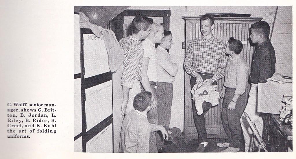 1959-60 SENIOR STUDENT MANAGER