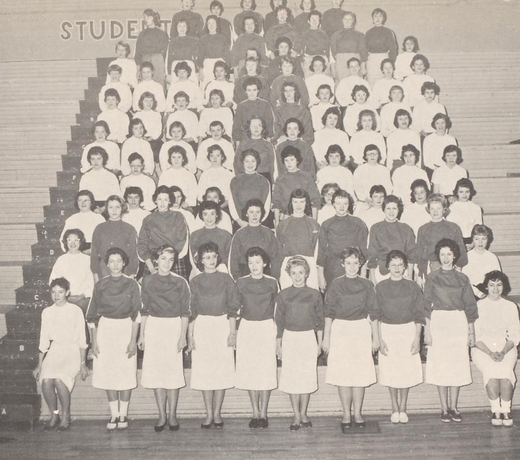 1959-60 PHS CHEERBLOCK