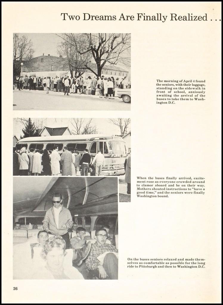 1960 CLASS TRIP