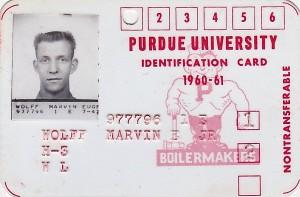 1960 FRESHMAN ID