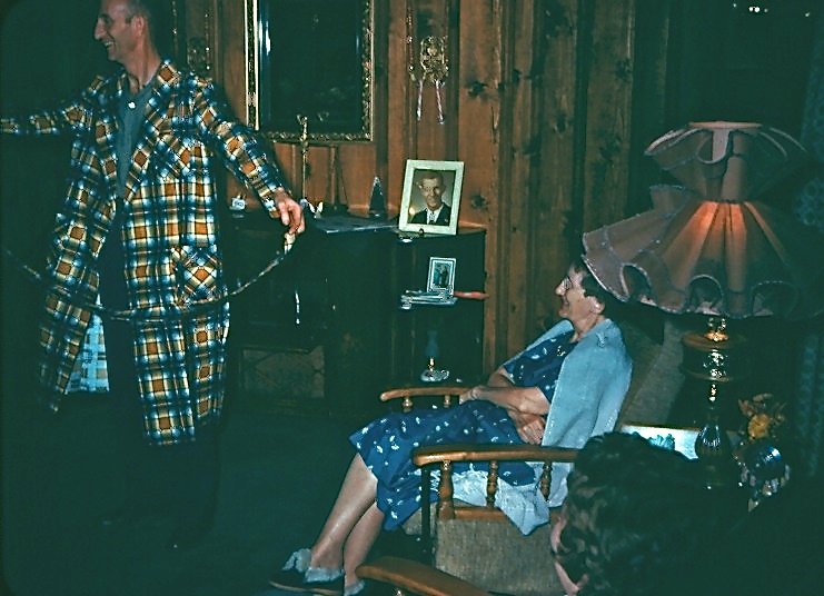 1960 DAD & GRANDMA WOLFF
