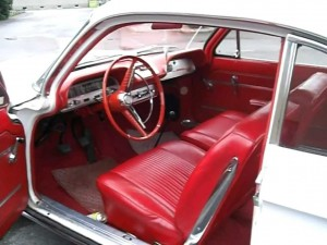 1961 CORVAIR INTERIOR