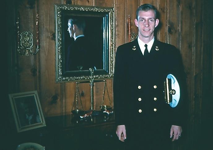 1961 NROTC uniform