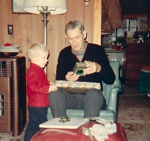 1968 Greg & Grandpa Barrett