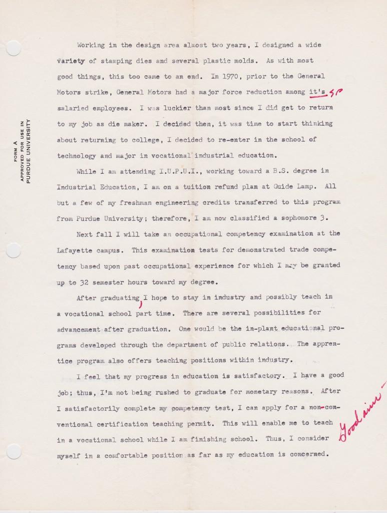 1970 PROGRESS REPORT