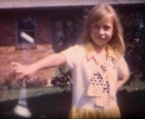 1973 DEBBIE TWIRLING