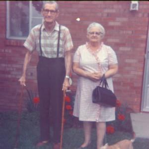 1974 GRANDPA & GRANDMA BARRETT